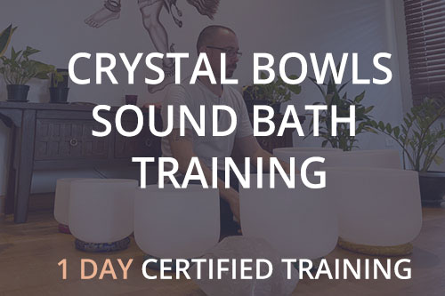 Crystal Bowls Sound Bath Training