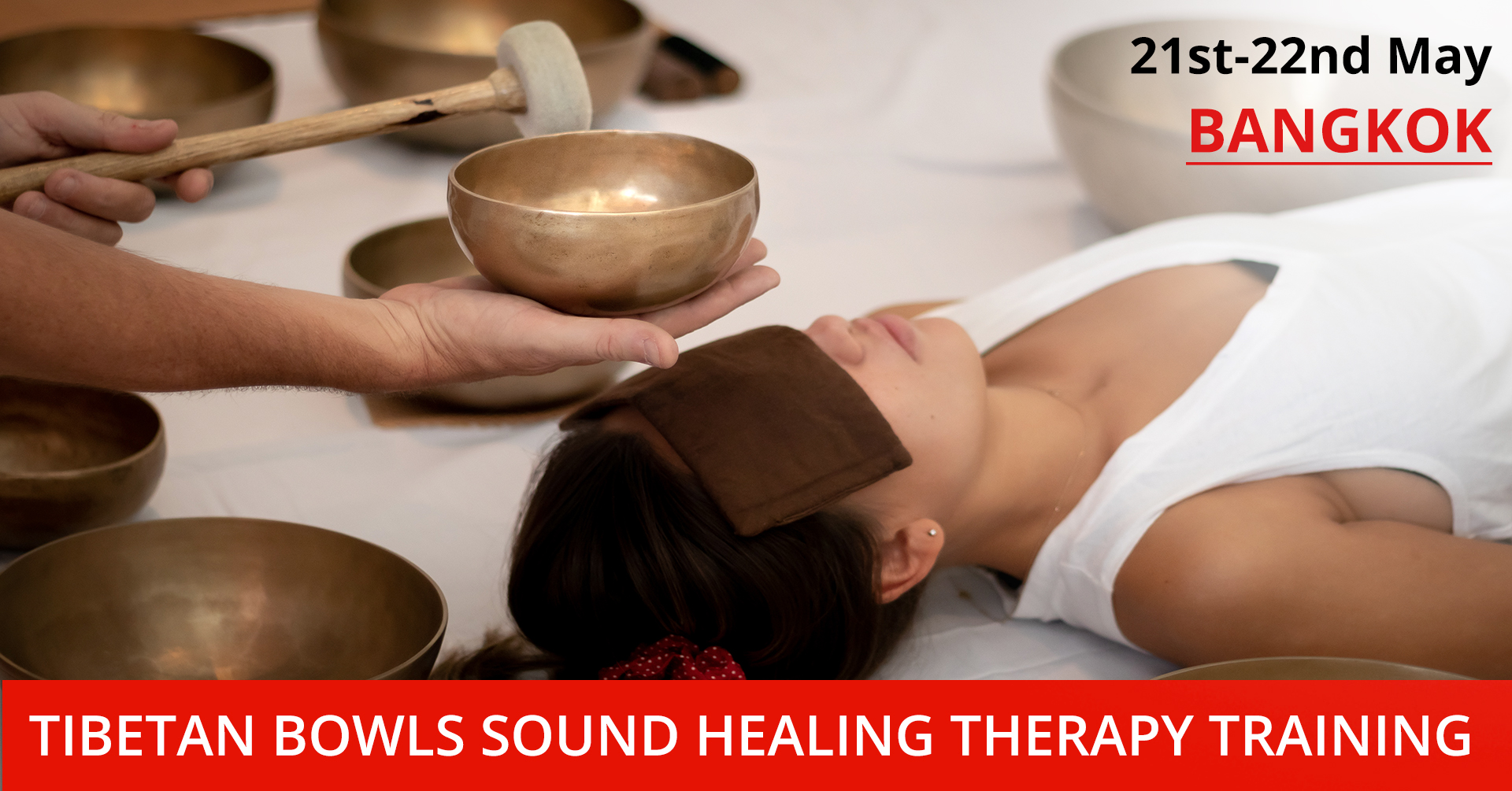 2-Day Tibetan Bowls Sound Healing Therapy Training Course Bangkok