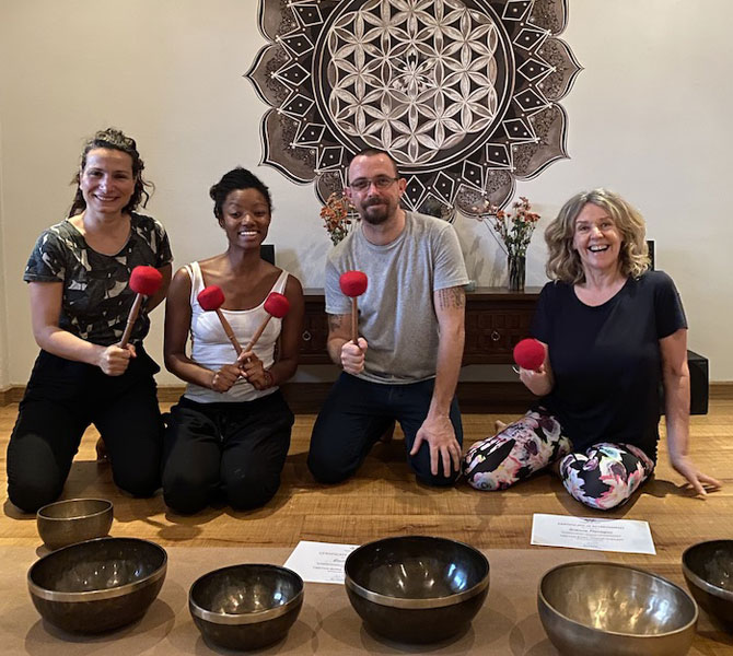 Tibetan Bowls Sound Healing Training